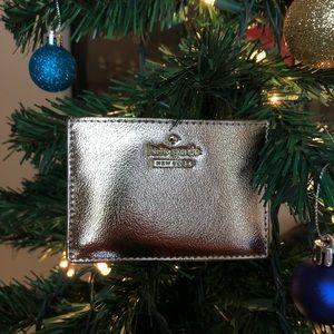 silver Kate Spade ♠️ card holder